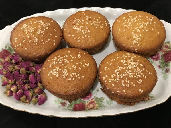 Cake Yazdi (Persian Muffins)