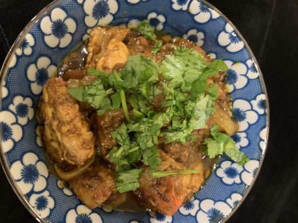 Quick Masala Chicken